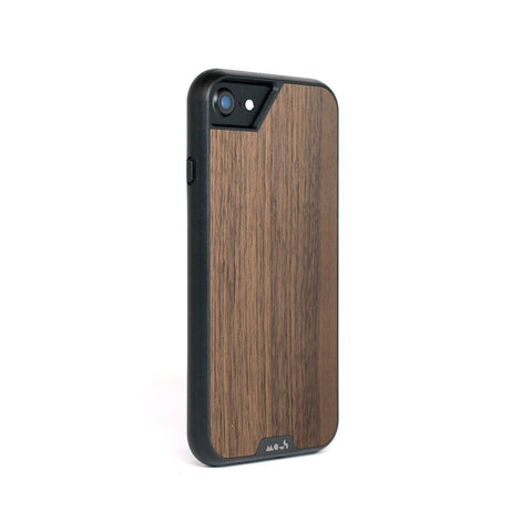 Walnut Protective iPhone SE Case