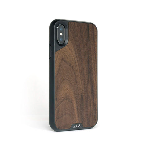 Walnut Protective iPhone X and XS Case