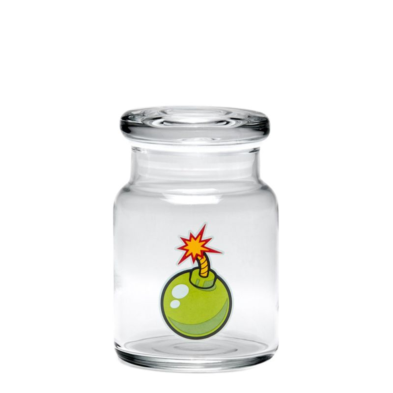 420 Science Pop Top Jar Medium - Bomb