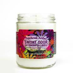 Smoke Odor 12oz Candle - Patchouli Amber