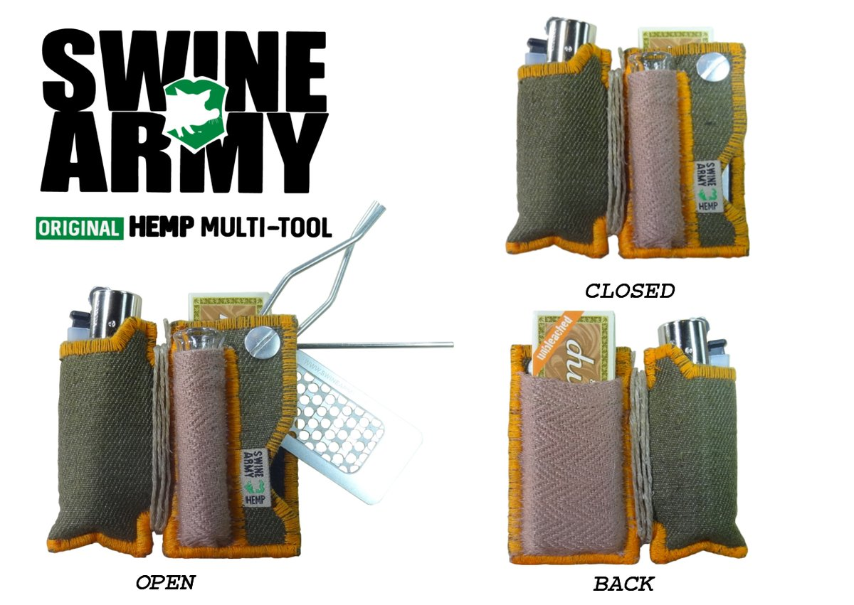 Swine Army 420 Multi-Tool Lighter & Taster Case