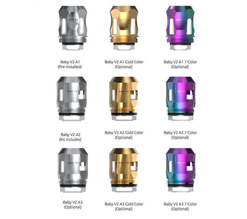 Smok TFV8 Baby V2 S2 Replacement Coils