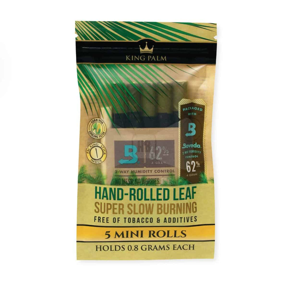 King Palm Mini Pre-Roll Pouch 5 Per Pack