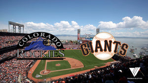 Monday Night Baseball- Colorado Rockies at San Francisco Giants