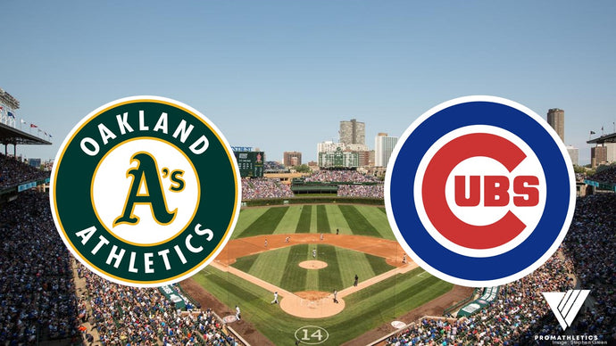 Monday Night Baseball - Oakland A's at Chicago Cubs