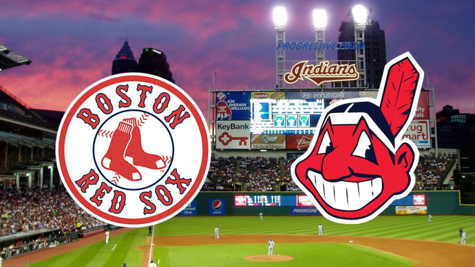 Monday Night Baseball - Boston Red Sox at Cleveland Indians