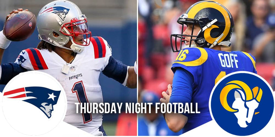 Thursday Night Football: Patriots @ Rams (-5)