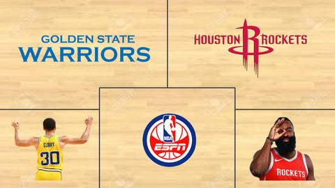 Golden State Warriors at Houston Rockets ProMathletics Prediction