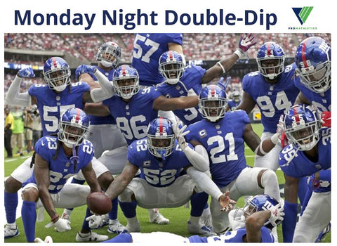 New York Giants vs. Pittsburgh Steelers and Denver Broncos vs. Tennessee Titans
