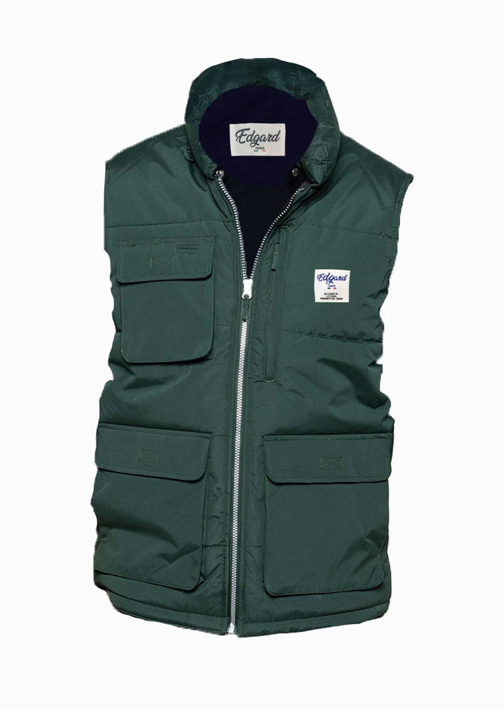 Bodywarmer veste sans manches Edgard Paris déperlant