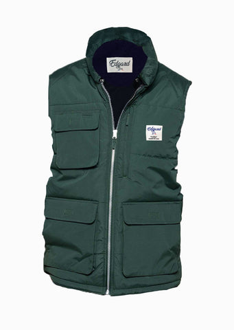 BODYWARMER EDGARD PARIS VERT SAPIN made in France Edgard Paris