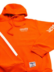 HOODIE EDGARD PARIS RÉFLÉCTIF 3M ORANGE made in France Edgard Paris