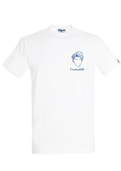 T-SHIRT BRODERIE L'IRRESISTIBLE made in France Edgard Paris