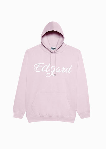 HOODIE BRODERIE EDGARD ROSE PÂLE made in France Edgard Paris
