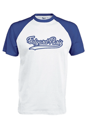 T-SHIRT BASEBALL BLEU made in France Edgard Paris