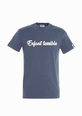 T-SHIRT VELOURS ENFANT TERRIBLE made in France Edgard Paris