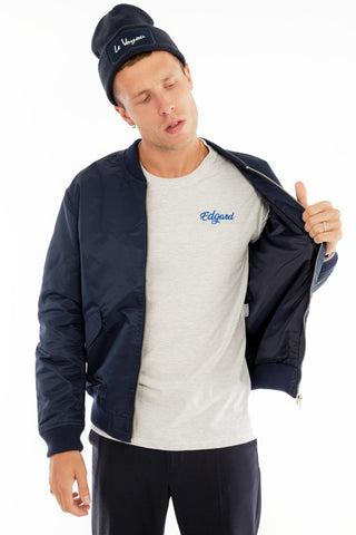 BOMBER BRODERIE LE VOYOU made in France Edgard Paris