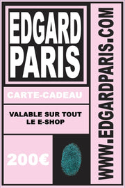 CARTE CADEAU made in France Edgard Paris