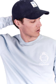 CASQUETTE BLEU MARINE ÉTIQUETTE COUTURE made in France Edgard Paris