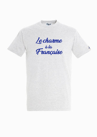 T-SHIRT VELOURS LE CHARME À LA FRANÇAISE made in France Edgard Paris