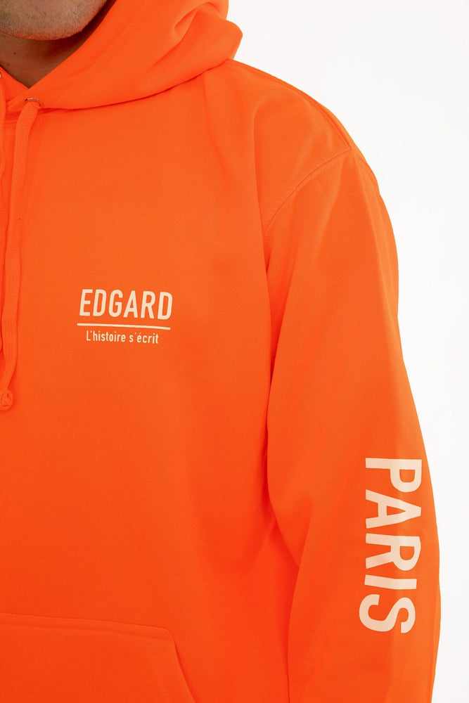 hoodie à capuche orange réfléctif 3M Edgard Paris
