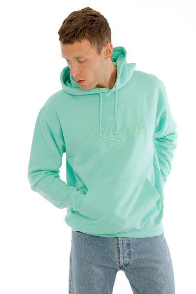 HOODIE BRODERIE EDGARD MENTHE made in France Edgard Paris