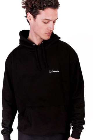 HOODIE RÉFLÉCHISSANT LE TENDRE made in France Edgard Paris