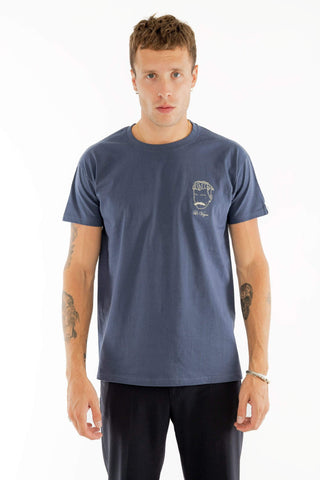 T-SHIRT BRODERIE LE VOYOU DENIM made in France Edgard Paris