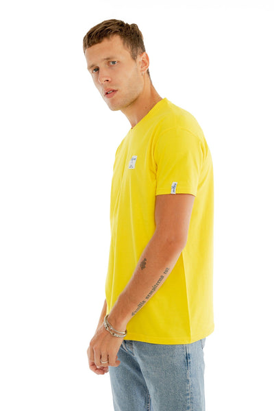 T-SHIRT COUTURE CITRON made in France Edgard Paris
