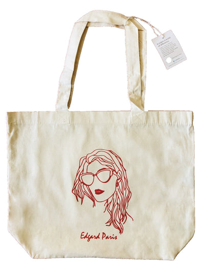 TOTEBAG LA BADASS made in France Edgard Paris