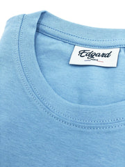 T-SHIRT BRODERIE LE VOYOU BLEU CIEL made in France Edgard Paris