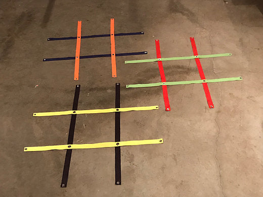 3 Foot Strap Tic Tac Toe Grid