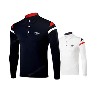 PGM Men's Long Sleeve Golf Shirts