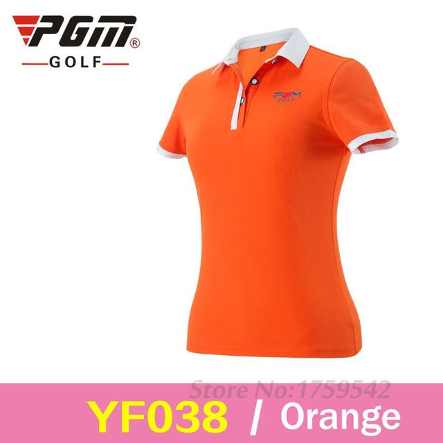 PGM Golf Women's Dry Sport Golf Shirt