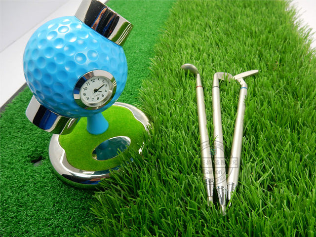 Golf Ball Design Desktop Pen Holder