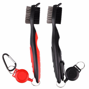 Golf Groove Cleaning Brush 2 Sided Cleaner Kit