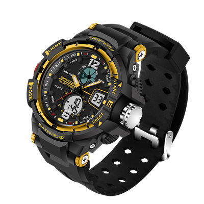 Sanda G Style Waterproof Sports Military Shock Watch Analog/Digital
