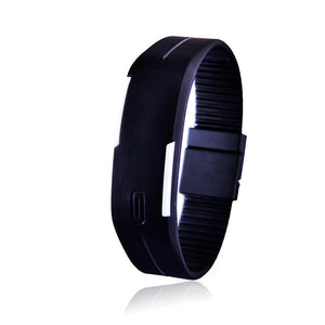 Digital Women's/Men's Sport LED Watch