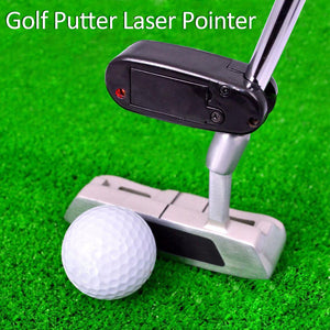 Black Golf Laser Pointer Putter