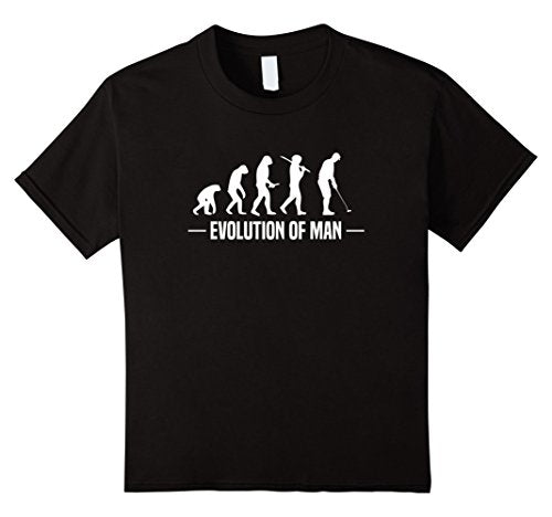 Evolution of Man Golf Tee