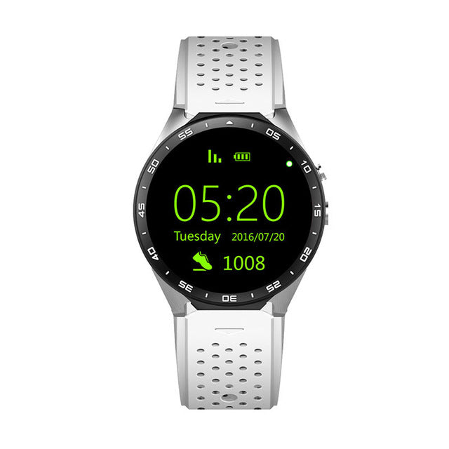 KW88 GPS 3G Bluetooth Smart Watch Android 5 1