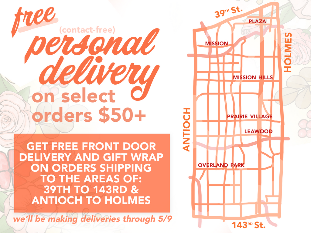 Free Personal Delivery Map