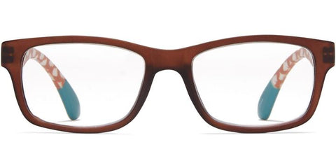 1.25 Brown with Ginkgo Temples Readers