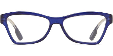 1.25 Rectangle Blue with Orange Temples Readers