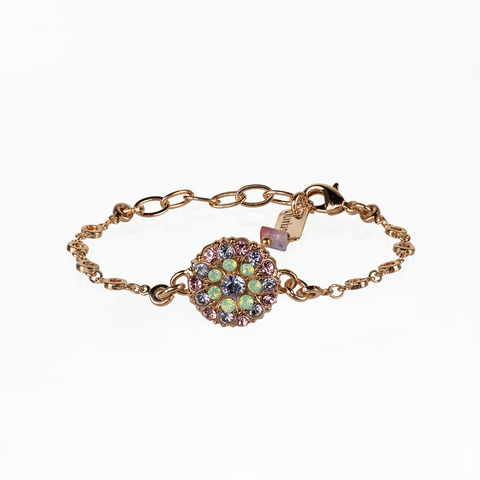 Mariana Guardian Angel Bracelet in Lavender on Rose Gold