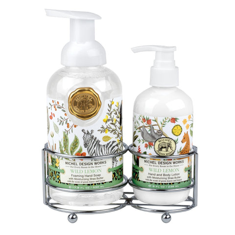 Wild Lemon Handcare Caddy Set