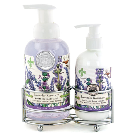 Lavender Rosemary Handcare Caddy Set