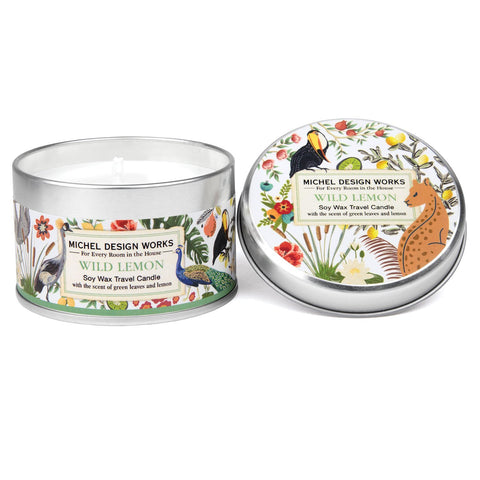 Wild Lemon Travel Candle