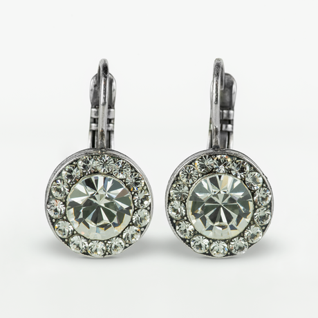 Mariana Earrings in Icy Clear on Silver