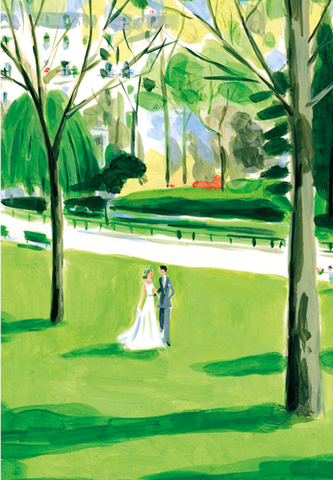 Wedding Walk Card